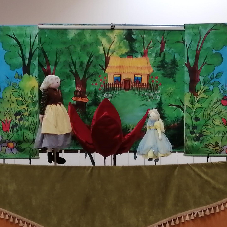 "Teatr Lalek "" Bajka"" – spektakl teatralno – kukiełkowy pt. ""Calineczka"""
